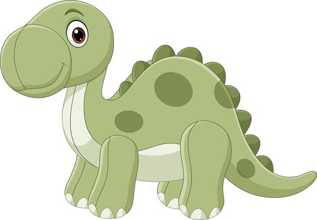可爱的恐龙娃娃