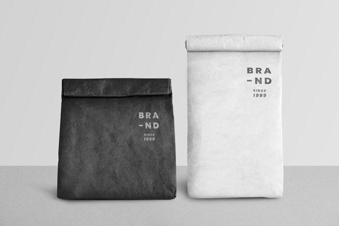 纸购物袋模型