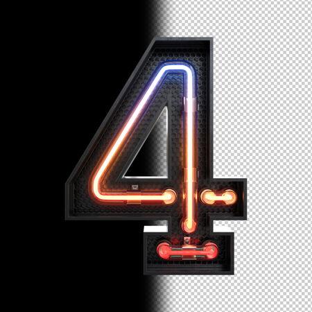 4号霓虹灯