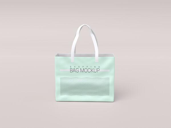 光滑逼真的购物袋模型