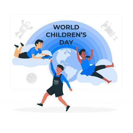 世界儿童节?概念图