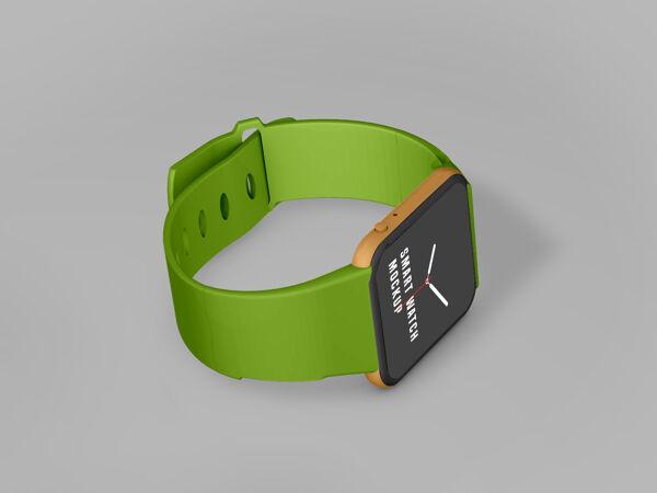 智能手表模型设计psd