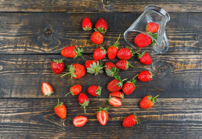 木面草莓杯